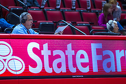 NORMAL, IL - November 05: Greg Hablieb during a college women's basketball game between the ISU Redbirds and the Truman State Bulldogs on November 05 2019 at Redbird Arena in Normal, IL. (Photo by Alan Look)