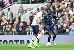 Abdoulaye Doucoure of Watford runs at Toby Alderweireld of Tottenham Hotspur - Mandatory by-line: Arron Gent/JMP - 19/10/2019 - FOOTBALL - Tottenham Hotspur Stadium - London, England - Tottenham Hotspur v Watford - Premier League