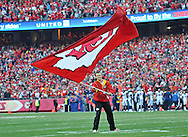 KANSAS CITY, MO - DECEMBER 01:  Celebration after a  Kansas City Chiefs touchdown against the Denver Broncos during the first half on December 1, 2013 at Arrowhead Stadium in Kansas City, Missouri.  (Photo by Peter G. Aiken/Getty Images) *** Local Caption ***
