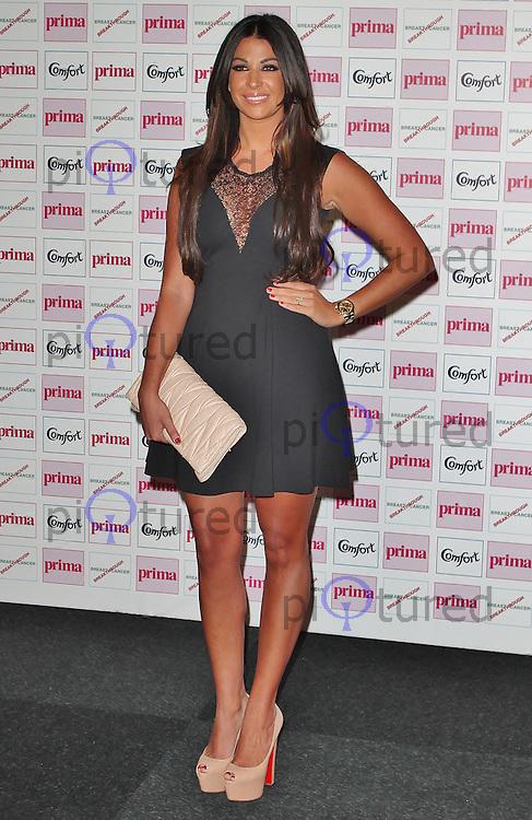 LONDON - September 13: Cara Kilby at The Comfort Prima High Street Fashion Awards 2012 (Photo by Brett D. Cove)