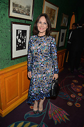 ARLENE PHILLIPS at a dinner to celebrate the 125th anniversary of the Dog's Trust held at Annabel's, Berkeley Square, London on 1st November 2016.