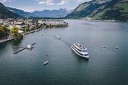 THEMENBILD - das Ausflugsschiff MS Schmitten am Zeller See, aufgenommen am 28. Juli 2020 in Zell am See, Österreich // the excursion ship MS Schmitten am Zeller See, Zell am See, Austria on 2020/07/28. EXPA Pictures © 2020, PhotoCredit: EXPA/ JFK