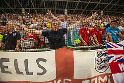 English fans during the EURO 2016 Qualifier Group E match between Slovenia and England at SRC Stozice on June 14, 2015 in Ljubljana, Slovenia. Photo by Grega Valancic