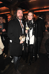 MAT COLLISHAW and POLLY MORGAN at a party to re-launch Downstairs at Momos, Momos, Heddon Street, London on 22nd February 2010.