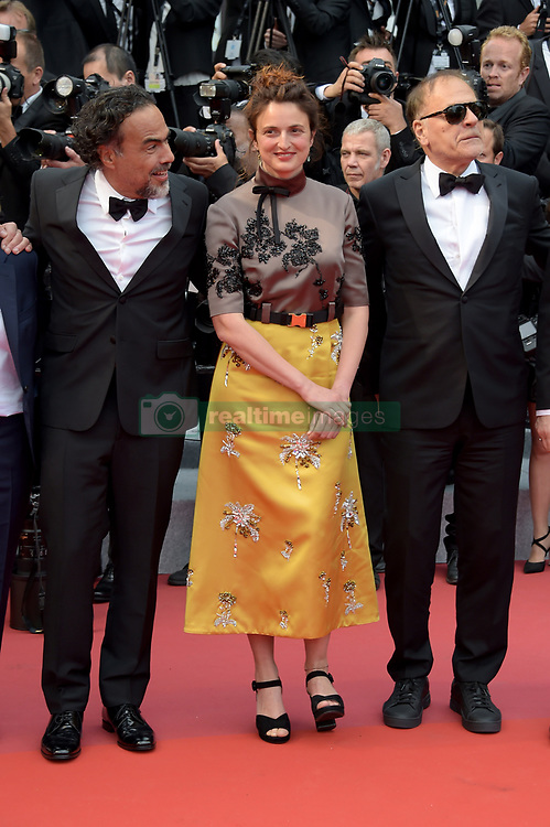 Alice Rohrwacher, Alejandro Gonzalez Inarritu attending the opening ceremony and premiere of The Dead Don't Die, during the 72nd Cannes Film Festival.