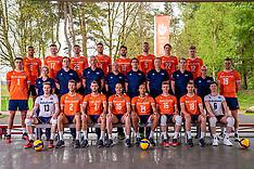 20210511 NED: Photoshoot selection of Orange men' volleybal team 2021, Arnhem
