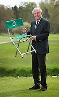 HATTEM - Ex NGF president  Jan Kruyt op de Sallandsche GC met zijn Augusta stoeltje. een bijzonder verhaal.  COPYRIGHT KOEN SUYK