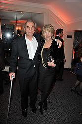 MARK SHAND and his sister ANNABEL ELLIOT  at Quintessentially's 10th birthday party held at The Savoy Hotel, London on 13th December 2010.