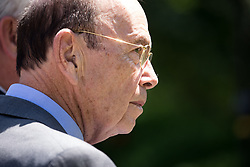 June 9, 2017 - Washington, DC, United States - U.S. Secretary of Commerce Wilbur Ross, attended the joint press conference of President Donald Trump and President Klaus Iohannis of Romania, in the Rose Garden of the White House, on Friday, June 9, 2017. (Credit Image: © Cheriss May/NurPhoto via ZUMA Press)