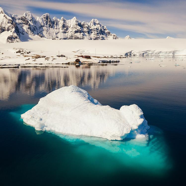 Port Lockroy, the antartic British Base.