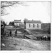 Stone Church, Centreville, Virginia from the book ' The Civil war through the camera ' hundreds of vivid photographs actually taken in Civil war times, sixteen reproductions in color of famous war paintings. The new text history by Henry W. Elson. A. complete illustrated history of the Civil war
