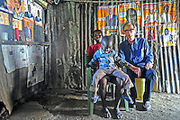 BILL WITH NANCY AND CLIFFORD IN SHAURIYAKO