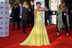 Michelle Keegan attending the Virgin TV British Academy Television Awards 2018 held at the Royal Festival Hall, Southbank Centre, London.
