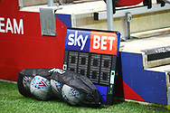 Sky Bet sub board during the EFL Sky Bet Championship match between Bristol City and Burton Albion at Ashton Gate, Bristol, England on 13 October 2017. Photo by John Potts.