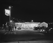 "Ackroyd 01821-2. ""West-Mrcus. Mobile Gas station 33rd & Killingsworth. October 28, 1949"" (John H. Bertsch Mobil Gas station, 5508 NE 33rd)"