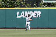 02 June 2016: Nova Southeastern's Kavan Thompson. The Nova Southeastern University Sharks played the Cal Poly Pomona Broncos in Game 11 of the 2016 NCAA Division II College World Series  at Coleman Field at the USA Baseball National Training Complex in Cary, North Carolina. Nova Southeastern won the semifinal game 4-1 and advanced to the championship series.