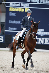 Bugan Michael, SVK, Floretto Dk<br /> Longines FEI/WBFSH World Breeding Dressage Championships for Young Horses - Ermelo 2017<br /> © Hippo Foto - Dirk Caremans<br /> 03/08/2017