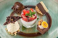Mousse, Layer Cake, White Chocolate Ice Cream, Truffle, Berry Parfait