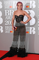 Louisa Johnson attending the BRIT Awards 2017, held at The O2 Arena, in London.<br /><br />Picture date Tuesday February 22, 2017. Picture credit should read Doug Peters/ EMPICS Entertainment. Editorial Use Only - No Merchandise.