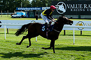 Lady Code ridden by Kieran O'Neill trained by Michael Attwater in The ITEC EPF Novice Median Auction Stakes (Class 5) - Mandatory by-line: Robbie Stephenson/JMP - 04/09/2019 - PR - Bath Racecourse - Bath, England - Bath Races