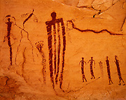 Barrier Canyon Styple pictographs, San Rafael Swell, UT.  (WH)