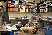 The office of Dr. Stephen Jones in the WSU Bread Lab in Burlington, WA.