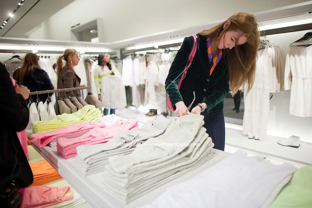 Zara's Fifth Avenue Grand Opening in New York...Photo by Robert Caplin..