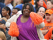 Fans dance during the Duke vs Virginia ACC football game Saturday in Charlottesville, VA. Duke won 28-17. Photo/Andrew Shurtleff