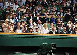 July 13, 2018 - Angleterre - Wimbledon - Loge Royale (Credit Image: © Panoramic via ZUMA Press)