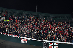 February 21, 2019 - Seville, Spain - Fans Betis during the Europa League round of 32 second leg soccer match between Betis and Rennes at the Benito Villamarin stadium, in Seville, Spain, Thursday, Feb. 21, 2019  (Credit Image: © Gtres/NurPhoto via ZUMA Press)