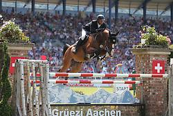 Kutscher, Marco, Liberty Son<br /> Aachen - CHIO 2014<br /> Preis von NRW<br /> © www.sportfotos-lafrentz.de/ Stefan Lafrentz