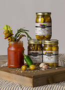 Food and Product Photography for a catalog for House of Webster.