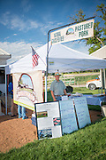 Keith Huettig of Homestead Natural Foods at the Twin Falls Farmers Market