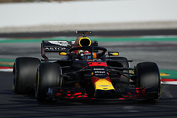 March 6, 2018 - Barcelona, Catalonia, Spain - March 6th, 2018 - Circuit de Barcelona-Catalunya, Montmelo, Spain - Formula One preseason 2018; Max Verstappen of RedBull Racing, Red Bull RB14 during the installation lap. (Credit Image: © Eric Alonso via ZUMA Wire)