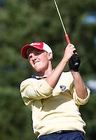 DEN DOLDER - Berend van Holthuijsen tijdenshet NK Strokeplay golf op Golfsocieteit  De Lage Vuursche. COPYRIGHT KOEN SUYK