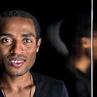 Nederland, Groningen, 07-10-2011.<br /> Atletiek, Lange Afstand, Mannen.<br /> Kenenisa Bekele uit Ethiopie.<br /> Olympisch kampioen in Beijing op de 5000 meter en 10000 meter.<br /> Foto : Klaas Jan van der Weij