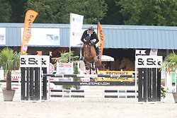 Vermeersch Arthur, BEL, Lady Spring Du Frech Try<br /> 4 years old Horses<br /> BK Young Horses Gesves 2021<br /> © Hippo Foto - Julien Counet