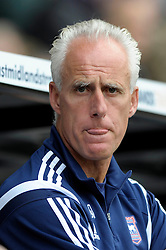 Ipswich Town Manager, Mick McCarthy - Photo mandatory by-line: Dougie Allward/JMP - Mobile: 07966 386802 30/08/2014 - SPORT - FOOTBALL - Derby - iPro Stadium - Derby County v Ipswich Town - Sky Bet Championship