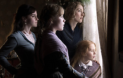 EMMA WATSON , SAOIRSE RONAN , FLORENCE PUGH and ELIZA SCANLEN in LITTLE WOMEN (2019), directed by GRETA GERWIG. (Credit Image: © Columbia Pictures/Entertainment Pictures via ZUMA Press)
