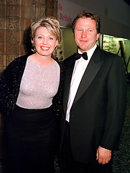 Newsreader KIRSTY YOUNG and her husband MR NICK JONES<br />  at a ball in London on 8th June 2000.OFB 14<br /> © Desmond O'Neill Features:- 020 8971 9600<br />    10 Victoria Mews, London.  SW18 3PY <br /> www.donfeatures.com   photos@donfeatures.com<br /> MINIMUM REPRODUCTION FEE AS AGREED.<br /> PHOTOGRAPH BY DOMINIC O'NEILL