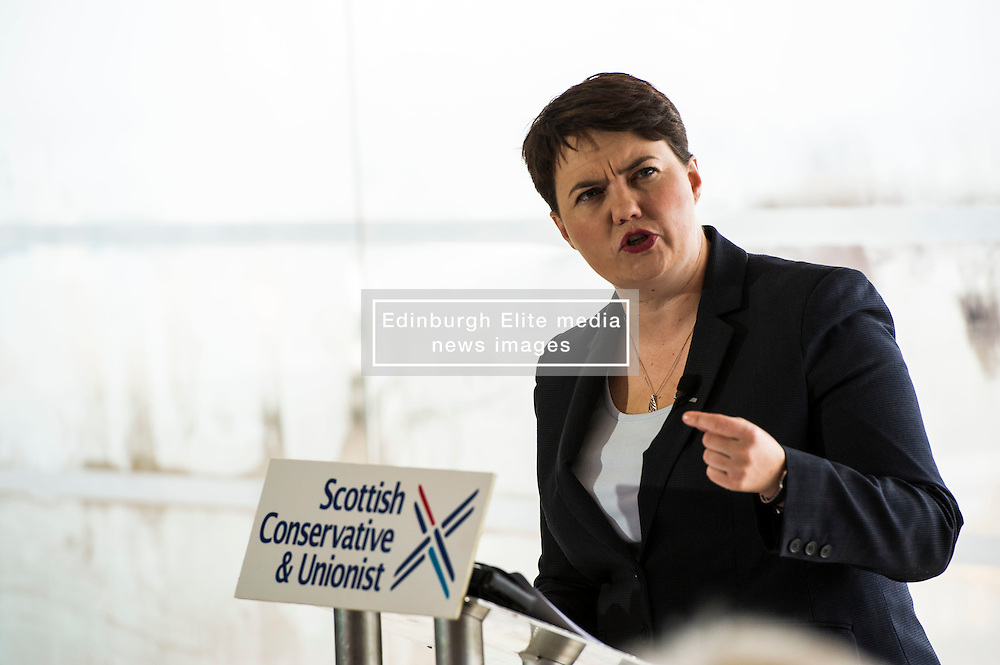 Pictured: Ruth Davidson<br /> <br /> Today Scottish Conservative leader Ruth Davidson delivered a speech in Edinburgh urging the Scottish Government to adopt new Tory policies to promote economic growth rather than resurrect their independence campaign<br /> <br /> Ger Harley | EEm 23 August 2016