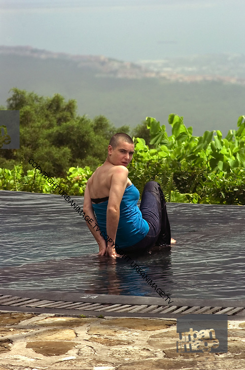 Sinéad O'Connor at Strawberry Hill Jamaica