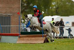 Sels Oliver, BEL, Ronaldo van de Nieuwe Heide<br /> LRV Nationale finale AVEVE Eventing Cup voor Pony's - Minderhout 2018<br /> © Hippo Foto - Dirk Caremans<br /> 28/04/2018