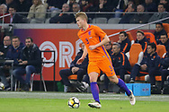 Netherlands Defender Matthijs de Ligt (Ajax Amsterdam),  during the Friendly match between Netherlands and England at the Amsterdam Arena, Amsterdam, Netherlands on 23 March 2018. Picture by Phil Duncan.