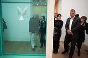 SIR BOB GELDOF; LORD BROWNE, Damien Hirst, Tate Modern: dinner. 2 April 2012.