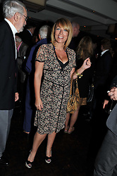 FAY RIPLEY at a party to celebrate the publication of 'Made In Sicily' by Giorgio Locatelli at Locanda Locatelli, Seymour Street, London on 4th October 2011.