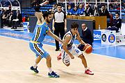 DESCRIZIONE : Capo dOrlando Lega A 2015-16 Betaland Orlandina Basket Vanoli Cremona<br /> GIOCATORE : Tommaso Laquintana<br /> CATEGORIA : Palleggio Penetrazione<br /> SQUADRA : Betaland Orlandina Basket<br /> EVENTO : Campionato Lega A Beko 2015-2016 <br /> GARA : Betaland Orlandina Basket Vanoli Cremona<br /> DATA : 15/11/2015<br /> SPORT : Pallacanestro <br /> AUTORE : Agenzia Ciamillo-Castoria/G.Pappalardo<br /> Galleria : Lega Basket A Beko 2015-2016<br /> Fotonotizia : Capo dOrlando Lega A Beko 2015-16 Betaland Orlandina Basket Vanoli Cremona