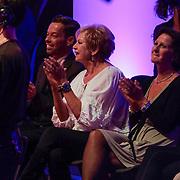 NLD/Hilversum/20120916 - 4de live uitzending AVRO Strictly Come Dancing 2012, Ria Valk in het publiek