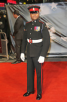 Lance Corporal Johnson Beharry VC Michael Jackson 'The Life of an Icon' World Premiere, Empire Cinema, Leicester Square, London, UK, 02 November 2011:  Contact: Rich@Piqtured.com +44(0)7941 079620 (Picture by Richard Goldschmidt)