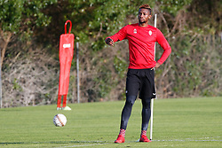 January 6, 2018 - Cadiz, SPAIN - Mouscron's Jonathan Bolingi pictured during the first day of the winter training camp of Belgian first division soccer team Royal Excel Mouscron, in Cadiz, Spain, Saturday 06 January 2018. BELGA PHOTO BRUNO FAHY (Credit Image: © Bruno Fahy/Belga via ZUMA Press)